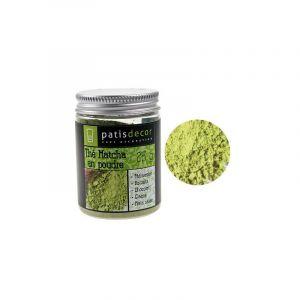 Patisdécor Thé Matcha en Poudre 25 g