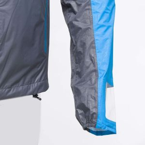 Raidlight Veste imperméable Top Extreme MP+ homme BLUE, GREY - Taille XL
