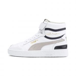 Puma Ralph Sampson Blanche Et Bleue Enfant 28 Baskets