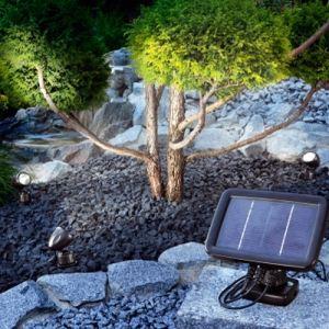 Esotec 102140 - Trio spot solaire led