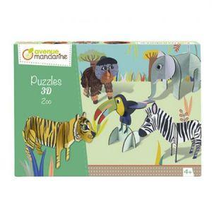 Avenue mandarine Puzzle Circus Drôle de Zoo