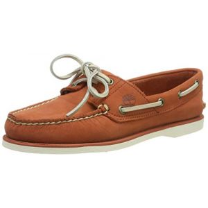 Timberland Classic 2-Eye, Chaussures Bateau Homme, Marron