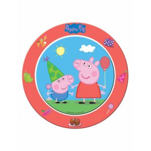 8 assiettes en carton Peppa Pig (23 cm)