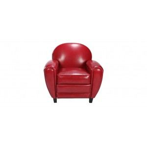 Fauteuil club cuir rouge comparer 39 offres - Fauteuil club cuir rouge ...