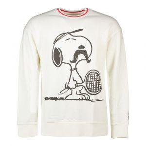 Levi's Sweat col rond Tennis Snoopy X PEANUTS Blanc - Taille L;M;S;XS