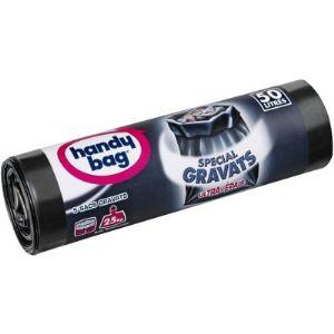 Handy Bag 3240290003 - Rouleau de 5 sacs de poubelle Gravat (50 L)