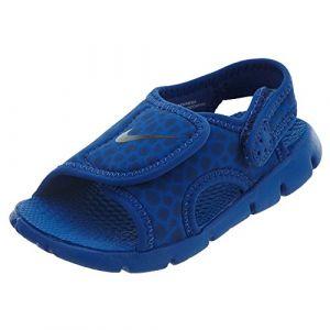 Nike Kindersandale Sunray Adjust 4, Sandales Bride Cheville Mixte Enfant, Bleu (Game Royal/Obsidian-414), 25 EU
