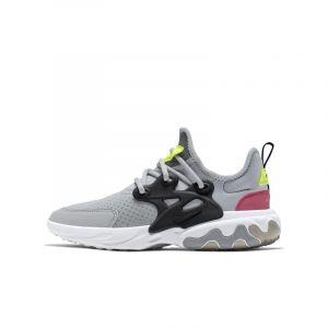 Nike Chaussure Presto React pour Enfant plus âgé - Gris - Taille 38 - Unisex