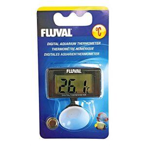 Fluval Thermomètre Numérique Avec Ventouse/Affichage En Degré Celsius Pour Aquarium
