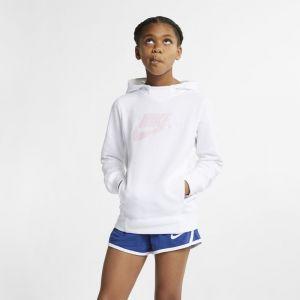 Nike Sweatà capuche à motif Sportswear pour Fille plus âgée - Blanc - Taille L - Female