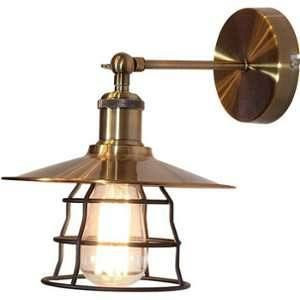 Globo Lighting Applique L28 x l22 x h28 cm - Bronze et Noir - Applique couleur bronze noir - WxH:220x280 - OH:280 - Ampoule non incluse - 1xE27 60W 230V