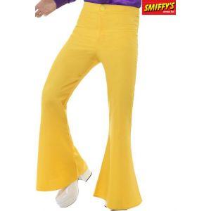 Smiffy's Pantalon disco jaune homme M