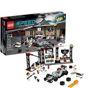 Lego 75911 - Speed Champions : L'arrêt au stand McLaren Mercedes