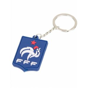 Porte clés silicone supporter France FFF