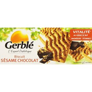 Gerblé Biscuits Sésame Chocolat 8 Sachets de 3 Biscuits 200 g