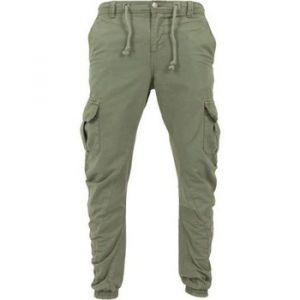 Urban classics Pantalon Pantalon cargo bas resserré vert - Taille EU XXL,EU S,EU M,EU L,EU XL,EU 3XL,EU 4XL,EU 5XL