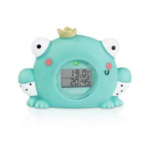 Miniland Baby Thermomètre de bain Thermo Bath Magic al Frog