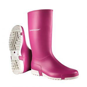 Dunlop Protective Sport Retail Bottes en Caoutchouc de sécurité Mixte Adulte Rose (Pink 003) 40 EU (Eliware neuf)