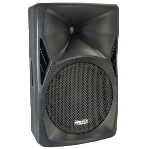 BST PH12BT - Enceinte active avec lecteur usb/sd, radio fm + Bluetooth 12pouces/30cm 500W