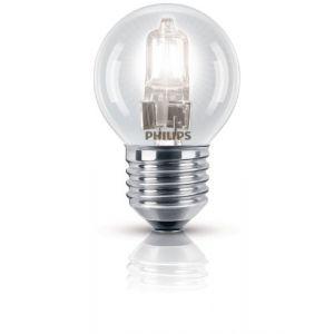 Philips 925647444211 - Ampoule Eco-Halogène Sphérique Culot E27 28 Watts consommés (Equivalence incandescence 35W)