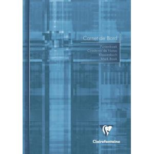Clairefontaine 10 Cahiers de bord  40 pages (148 x 210 mm)