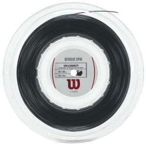 Wilson Ficelle Revolve Spin 200 M - Black - Taille 1.30 mm