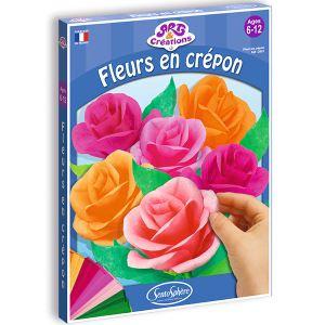 Sentosphère Fleurs en Crépon