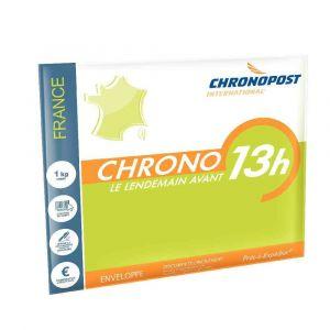 Chronopost Chrono 13 enveloppes 33x27cm avec option boîte à lettre