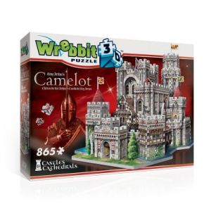 Wrebbit Puzzle 3D - Camelot, Château du Roi Arthur