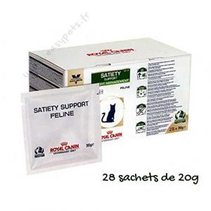 Royal Canin Veterinary Diet Chat Satiety Support Weight Management SAT 34 - 28 sachets de 20 g