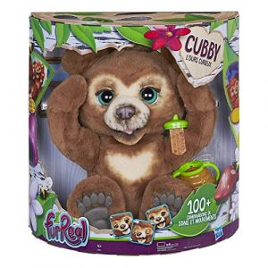 Hasbro Cubby, l'ours curieux Fur Real