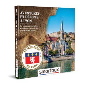 Smartbox Coffret cadeau Aventures et délices à Lyon