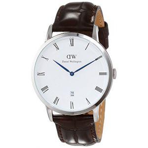 Daniel Wellington W1122DW - Montre pour homme avec bracelet en cuir