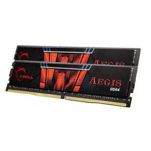 G.Skill F4-2800C17D-16GIS - Barrette mémoire Aegis 16 Go (2 x 8 Go) DDR4 2800 MHz CL17