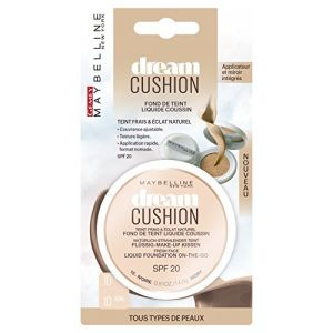 Maybelline Dream Cushion 10 Ivoire - Fond de teint liquide coussin
