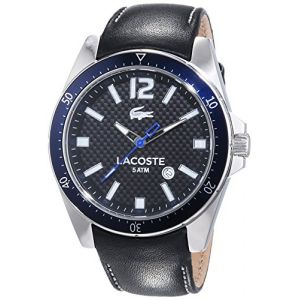 Lacoste 2010751 - Montre pour homme avec bracelet en acuir