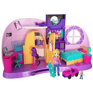 Mattel Polly Pocket - La chambre des métamorphoses