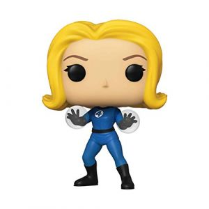 Funko Pop Marvel: Fantastic Four-Invisible Girl Collectible Toy, 44986, Multicolour