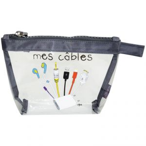Incidence Trousse Krystal Mes câbles taille S