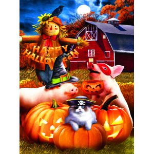 Sunsout Tom Wood - Happy Halloween