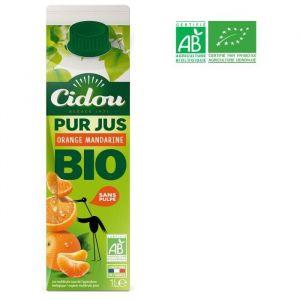 Cidou Pur jus d'orange et de mandarine bio - 1 l