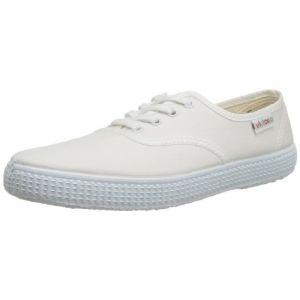 Victoria Inglesa Lona, Baskets Basses mixte adulte Blanc (20 Blanco) 35 EU