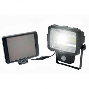 Velamp INCA: projecteur LED solaire de 1600 lumens avec détecteur de mouvement