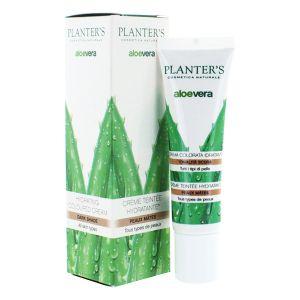 Planter's Aloe Vera - Crème teintée visage hydratante pour peaux mates