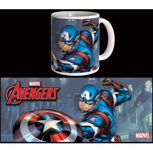 Semic Distribution Mug Captain America Avengers