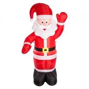 Père Noël gonflable Père Noël Oscar