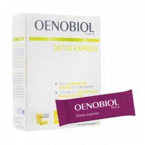Oenobiol Detox Express citron-gingembre - 10 sticks