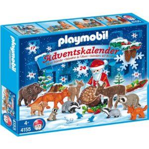 Playmobil 4155 - Calendrier de l'Avent Noël en forêt