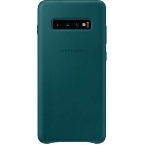 Samsung Coque S10+ Cuir vert