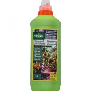 Vilmorin Engrais liquide universel - 1 L - Engrais liquide universel 1L - Idéal pour une croissance vigoureuse et une floraison prolongée.